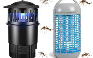Лучшие электрические ловушки для насекомых