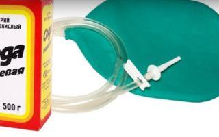 Клизма с содой от паразитов — рецепты, как принимать, отзывы