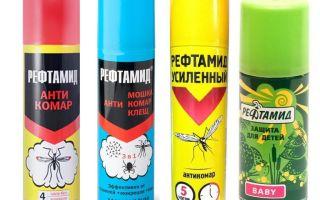 Средство рефтамид от комаров