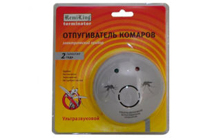 Ультразвуковые отпугиватели комаров — обзор и отзывы