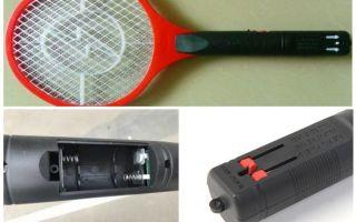 Электрическая ракетка от комаров и мух