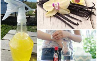 Ванилин от комаров – рецепты для детей и взрослых