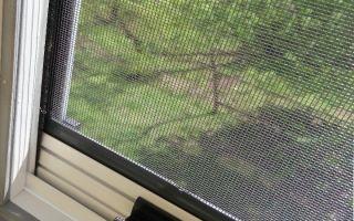 Сетки от комаров – виды и описание
