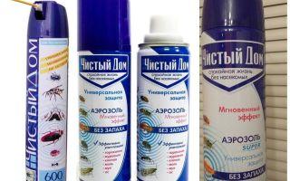 Средства чистый дом от тараканов и отзывы: гель, аэрозоль, мелок и спрей