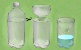 Ловушки для ос из пластиковой бутылки своими руками