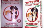 Ошейник от блох чистотел для кошек и собак: отзывы и инструкция