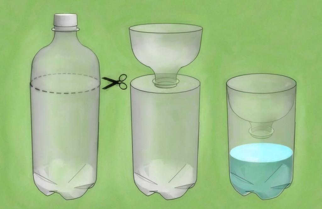 Ловушка для ос из пластиковой бутылки: как сделать?