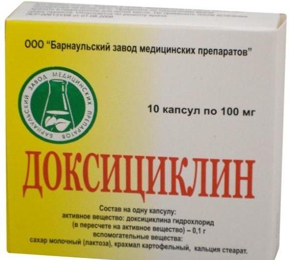 Доксициклин после укуса клеща