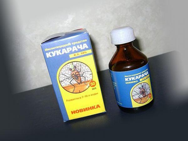 Состав и применение Кукарачи от клопов