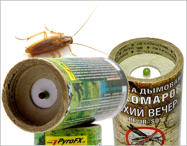 Дымовые шашки от тараканов. Что выбрать и как применять?