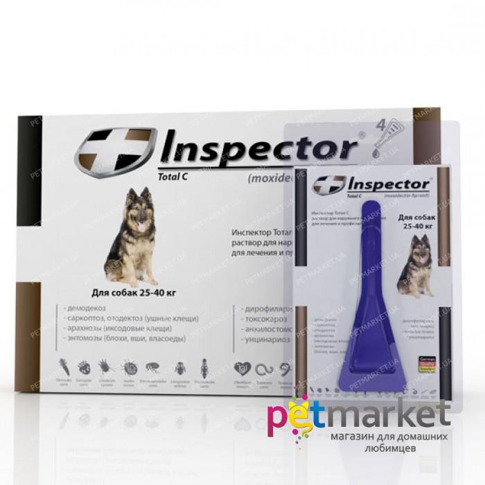 Капли инспектор для кошек от блох и клещей